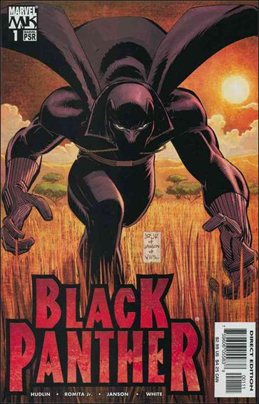 Black Panther (2005) 1-A by Marvel