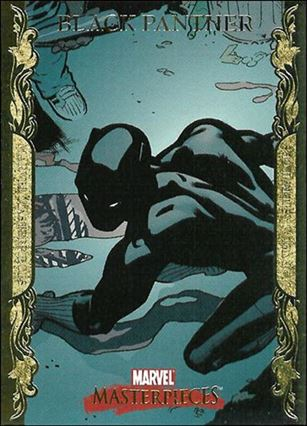 2007 Marvel Masterpieces (Parallel Gold Border Base Set) 10-A