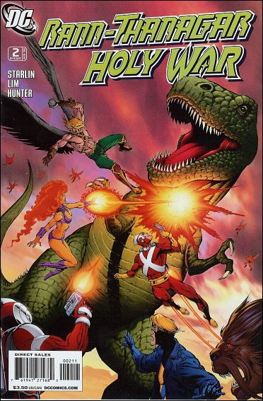 Rann/Thanagar Holy War 2-A by DC