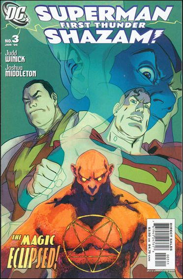 Superman/Shazam: First Thunder 3-A by DC