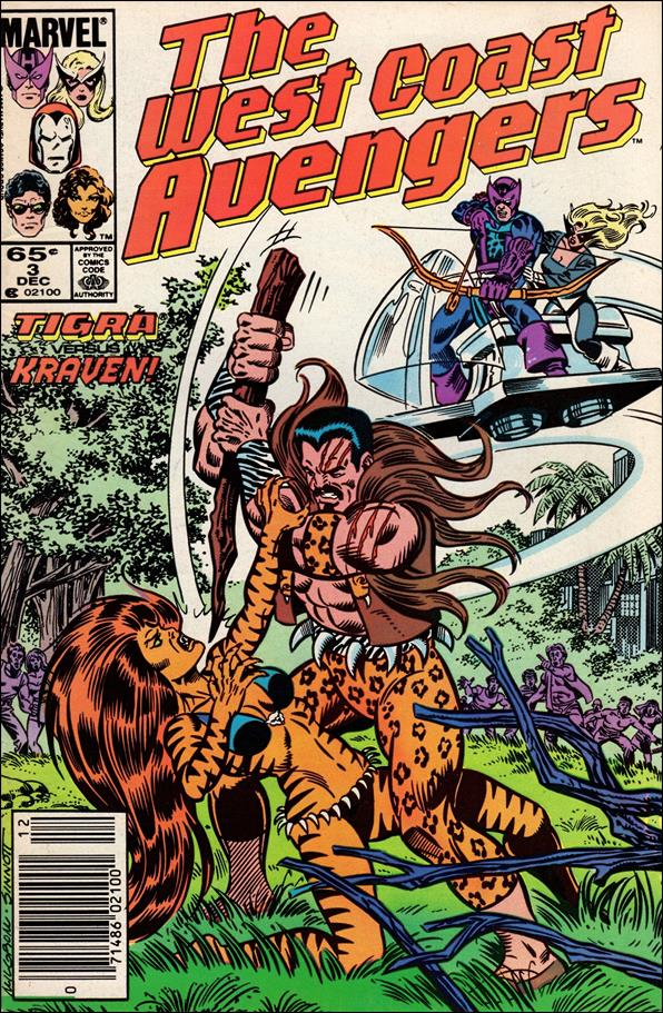 West Coast Avengers (1985) 3-A by Marvel