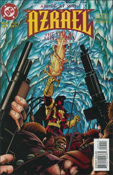 Azrael (1995) 25-A by DC