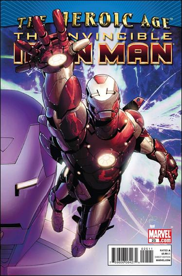 Invincible Iron Man (2008) 25-A by Marvel