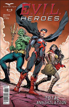 E.V.I.L. Heroes 6-A
