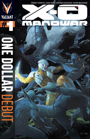 X-O Manowar (2012)  1-I by Valiant Entertainment