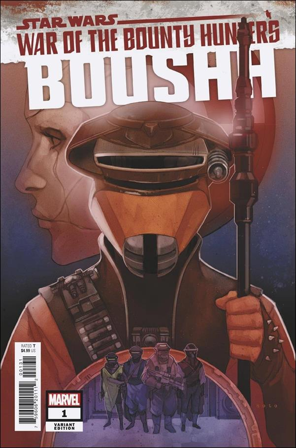 Star Wars: War of the Bounty Hunters - Boushh 1-B by Marvel