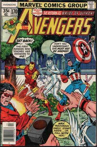 Avengers (1963) 170-A by Marvel