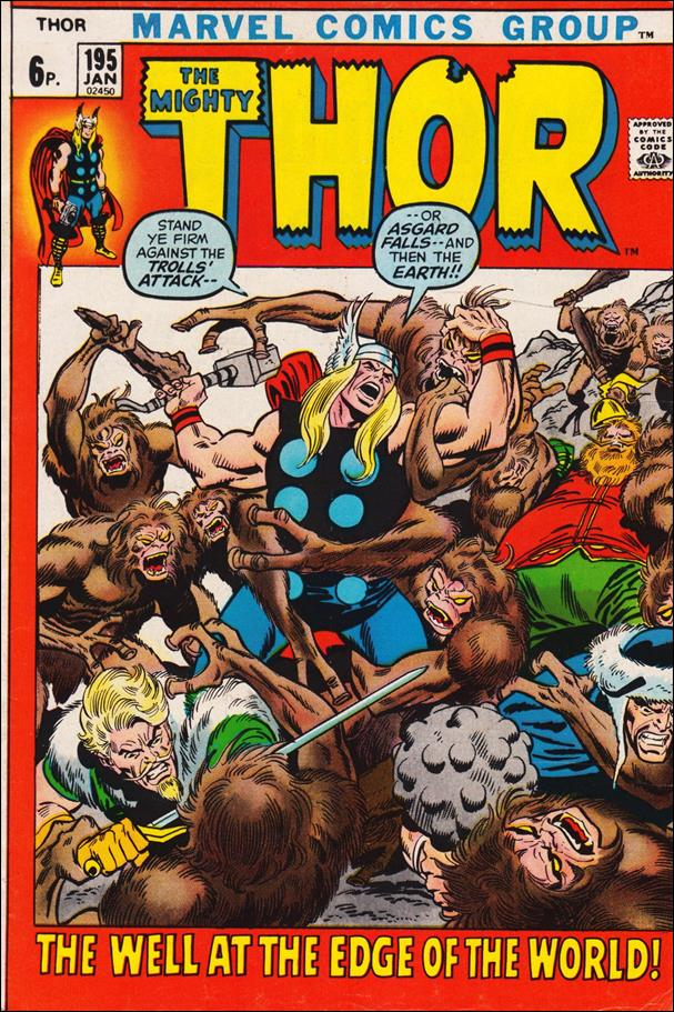 Thor (1966) 195-B by Marvel
