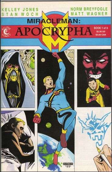 Miracleman: Apocrypha 1-A by Eclipse