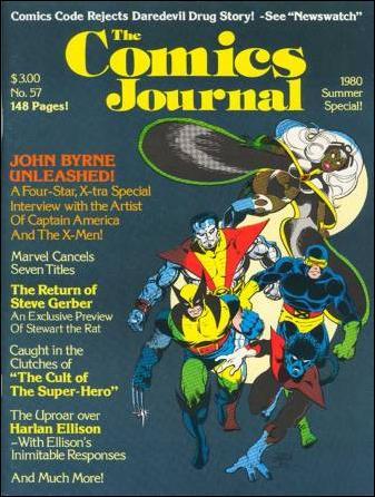 Comics Journal 57-A by Fantagraphics