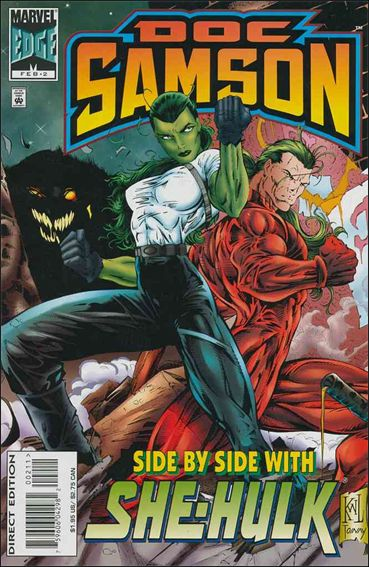 Doc Samson (1996) 2-A by Marvel