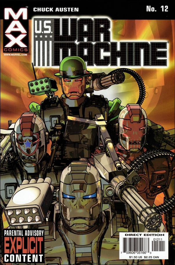 U.S. War Machine 12-A by Max