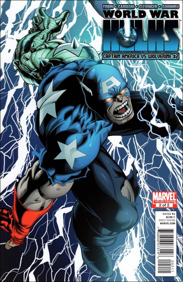 World War Hulks: Wolverine vs Captain America 2-A by Marvel