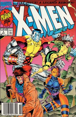 X-Men (1991) 1-B