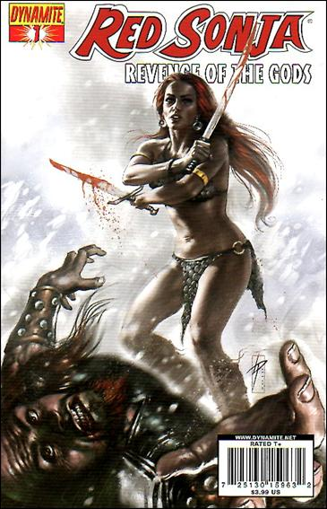 Red Sonja: Revenge of the Gods 1-A by Dynamite Entertainment