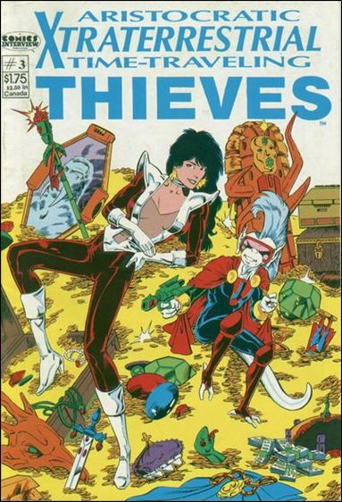 Aristocratic Xtraterrestrial Time-Traveling Thieves (1987) 3-A by Comics Interview