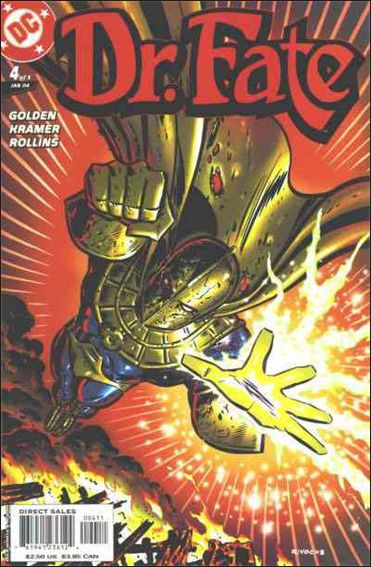 Doctor Fate (2003) 4-A by DC
