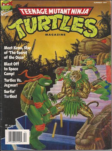 Teenage Mutant Ninja Turtles Magazine 4-A by Welsh Publishing Group