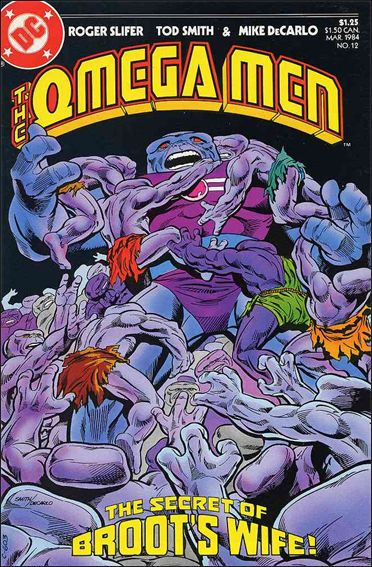 Omega Men (1983) 12-A by DC
