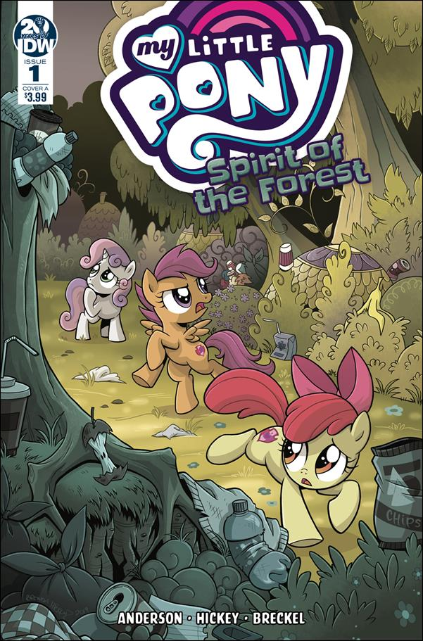 My Little Pony: Spirit of the Forest 1-A by IDW