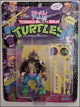 teenage mutant ninja turtles ro punker don jan 1991