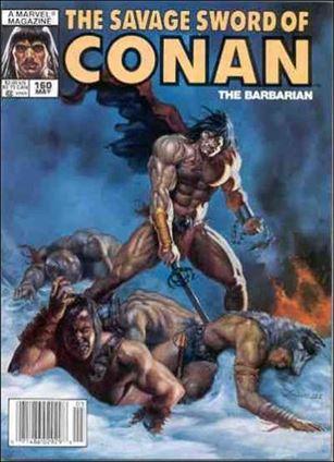 Savage Sword of Conan (1974) 160-A