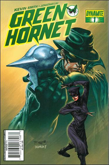 Green Hornet (2010) 1-D by Dynamite Entertainment