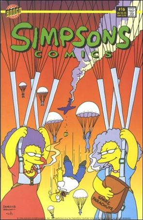 Simpsons Comics 16-A