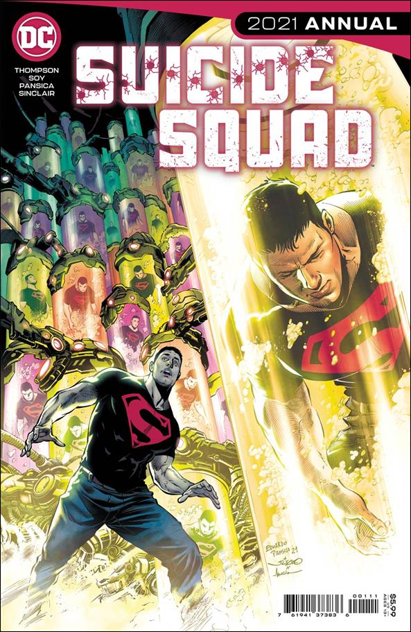 Suicide Squad 2021 Annual 1-A by DC