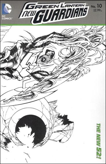 Green Lantern: New Guardians  10-B by DC