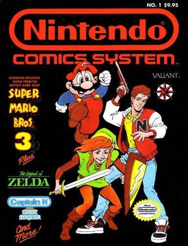 Nintendo Comics System 1-A by Valiant