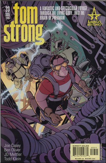 Tom Strong 33-A by America's Best Comics