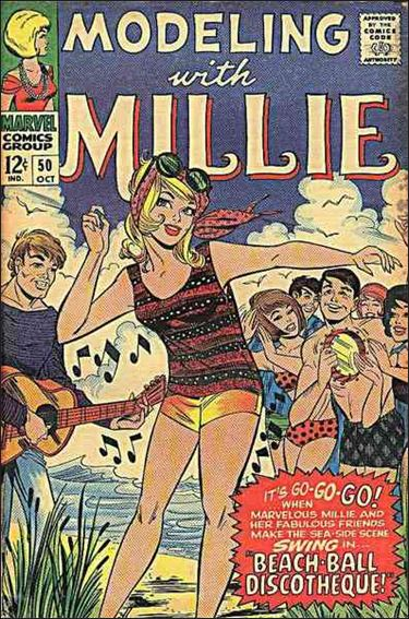 Modeling with Millie 50-A by Marvel