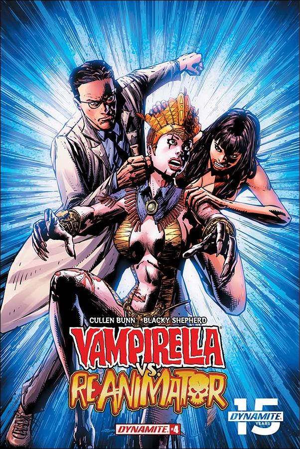 Vampirella vs Reanimator 4-A by Dynamite Entertainment