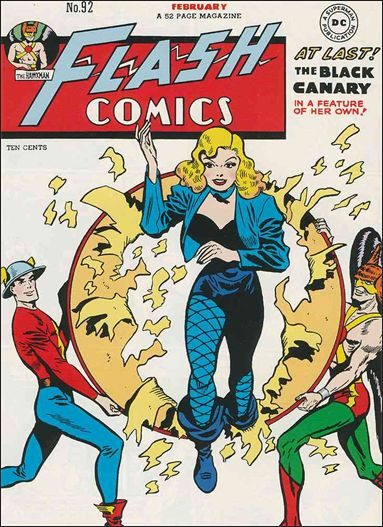 Flash Comics (1939) 92-A by DC