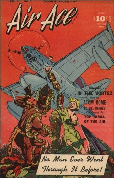 Air Ace (1945) 7-A by Street and Smith Publications