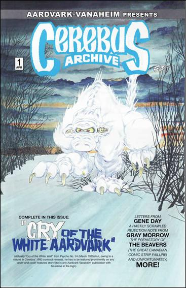 Cerebus Archives 1-A by Aardvark-Vanaheim