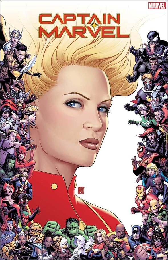 Captain Marvel (2019) 9-C by Marvel