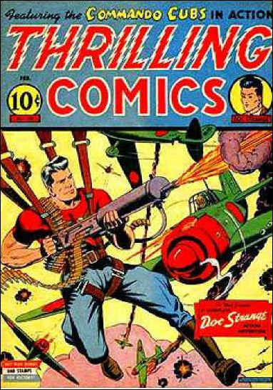Thrilling Comics (1940) 40-A by Standard