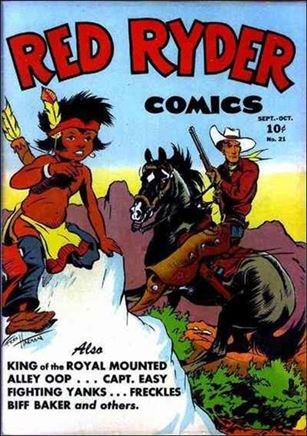 Red Ryder Comics 21-A