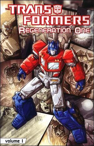 Transformers: Regeneration One  1-A by IDW