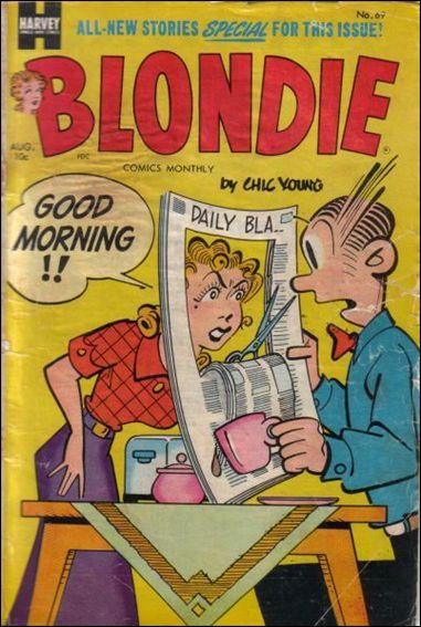 Blondie Comics (1950) 69-A by Harvey