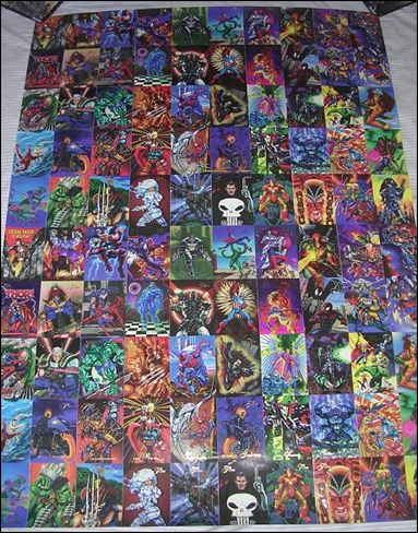 Marvel Annual Flair '94 (Uncut Sheet) 1-A by Fleer