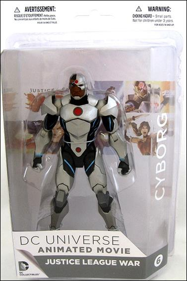 Justice League War Cyborg by DC Collectibles