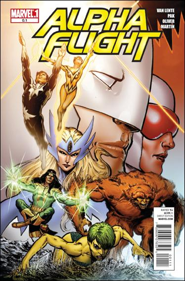 Alpha Flight (2011) 0.1-A by Marvel
