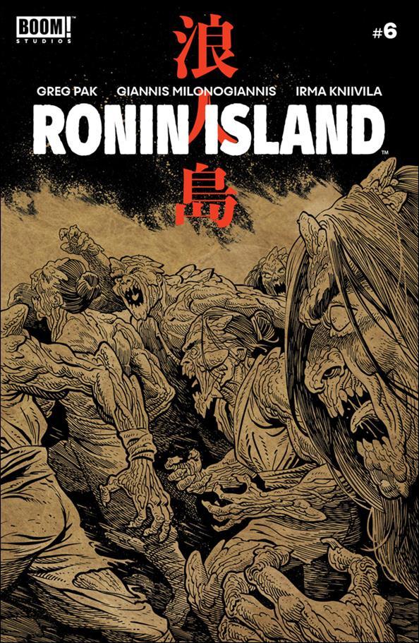 Ronin Island 6-B by Boom! Studios