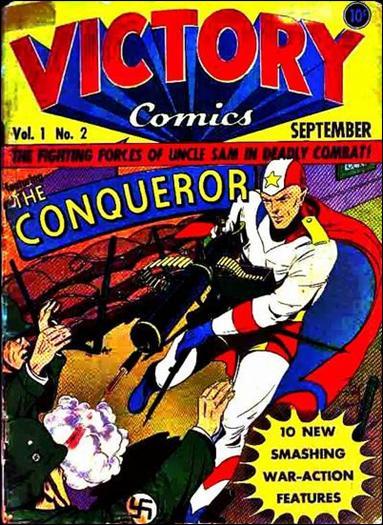Victory Comics 2-A by Hillman