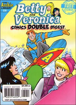 Betty and Veronica (Comics)  Double Digest 230-A