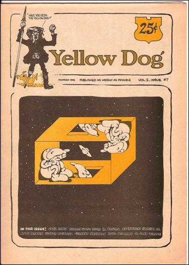 Yellow Dog 7-A by Print Mint