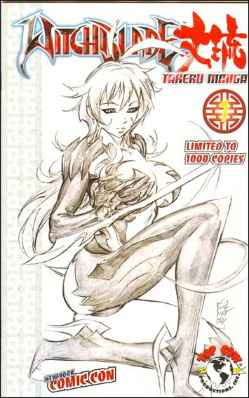Witchblade: Takeru Manga 1-E by Top Cow